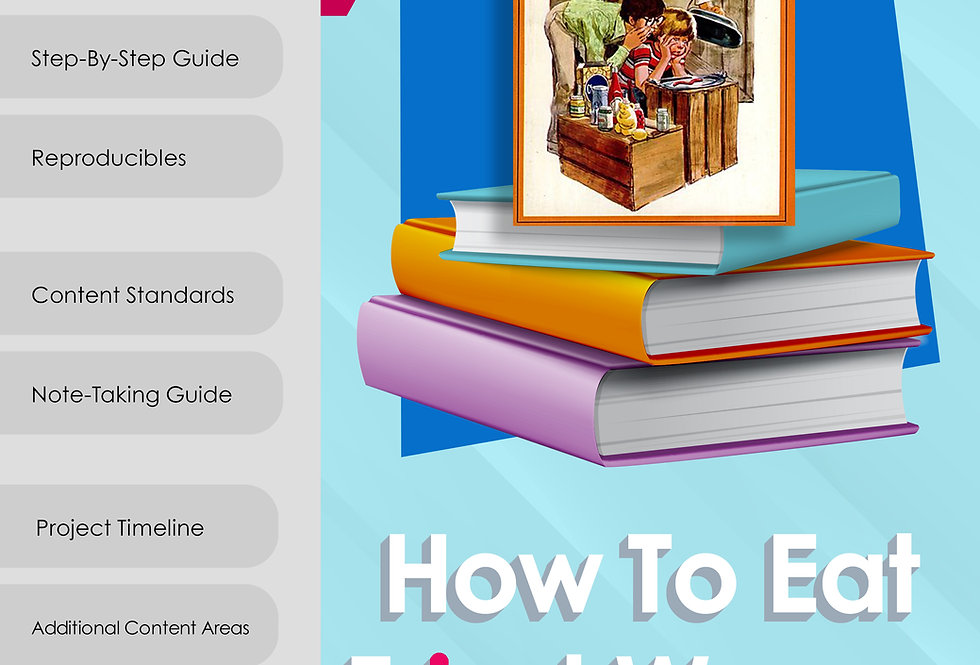 How to Eat Fried Worms Novel Study - 3rd-6th Grade