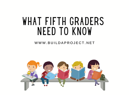 What Fifth Graders Need To Know: Ages 10-12⠀