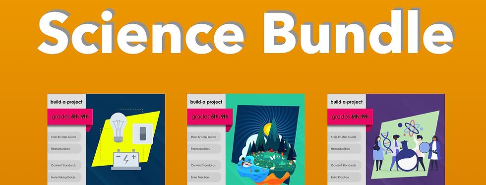 5th-9th Grade Science Bundle