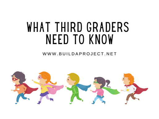 What Third Graders Need To Know: Ages 8-10⠀