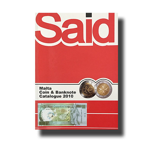 Said Malta Coin & Banknote Catalogue (2010)
