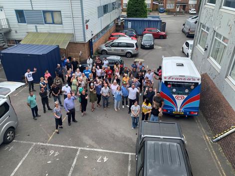 Sabeti Wain Aerospace High Wycombe enjoy Ice cream Day
