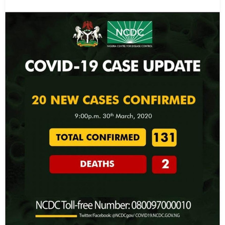 COVID-19 in NIGERIA: This is the time to put politics aside