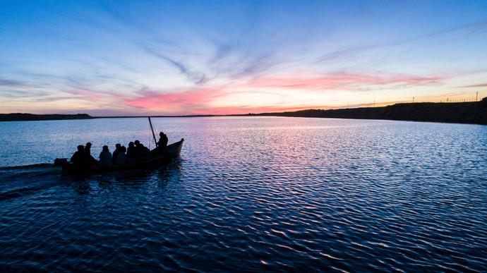 Laguna Garzón ,Uruguay.
