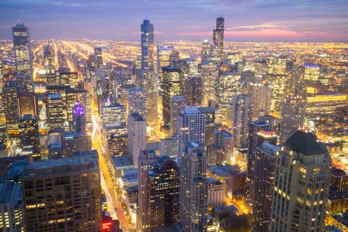 Chicago, Ilinois, Usa