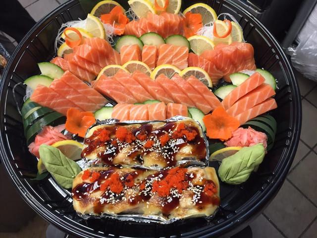Sashimi and Roll Platter