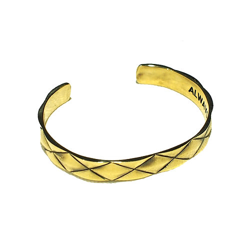 REVxArgent Gream DIA BANGLE <BRASS>