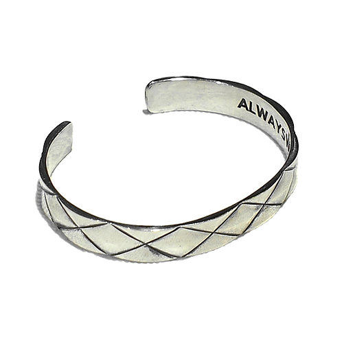 REVxArgent Gream DIA BANGLE <SILVER>