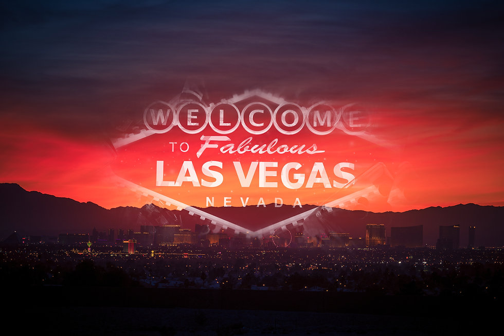 Welcome in the Las Vegas Concept Photo.