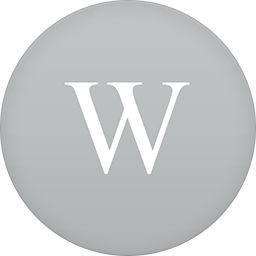 Wikipedia-flat-circle-256