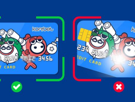 コニベットクレジットカード入金