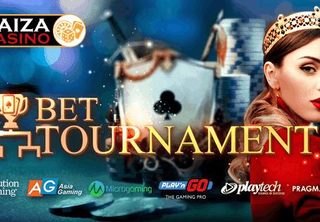 パイザカジノ  BETトーナメント『上位100名に賞金』