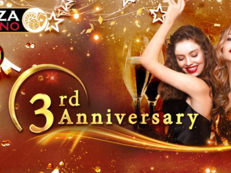 パイザカジノ  3周年を記念 特別イベント