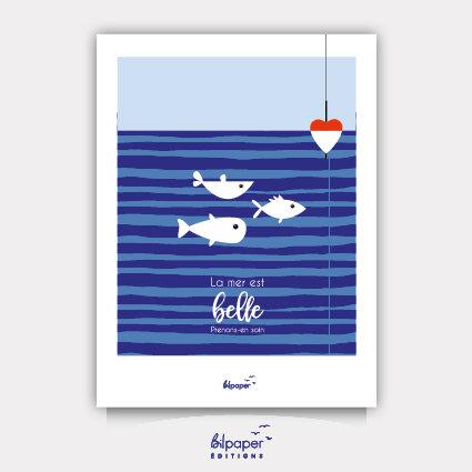 Affiche Bilpaper - La mer est belle 1