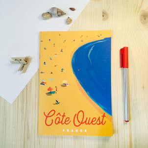 Carnet de notes Côte Ouest