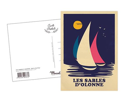 Carte Postale Marcel - Les Sables d'Olonne