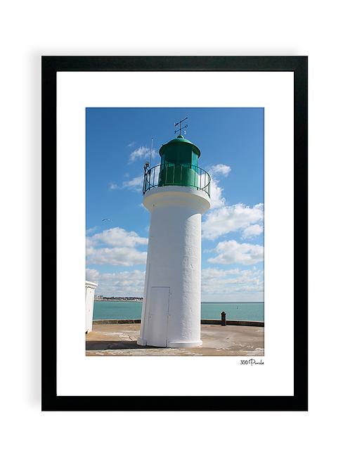 300 Pixels - Affiche Photo - Le Phare vert, Les Sables d'Olonne