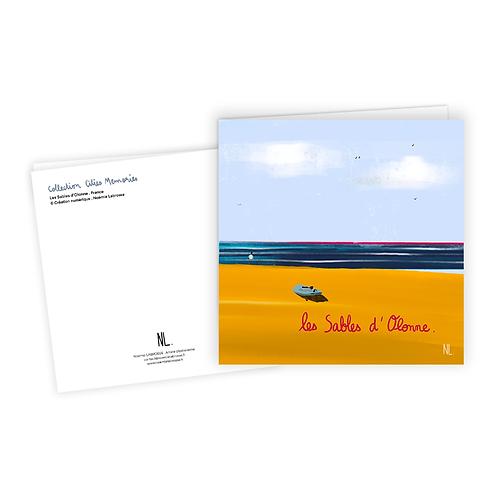 Carte Postale - Les Sables d'Olonne - Surf