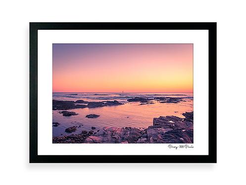 300 Pixels Affiche Photo - Coll. Prissy - La Chaume côte sauvage, Phare des Barges