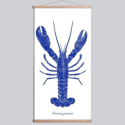 Affiche Atelier 2Bis - Homard Bleu
