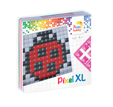 Pixel Hobby Coccinelle - Pixel Art