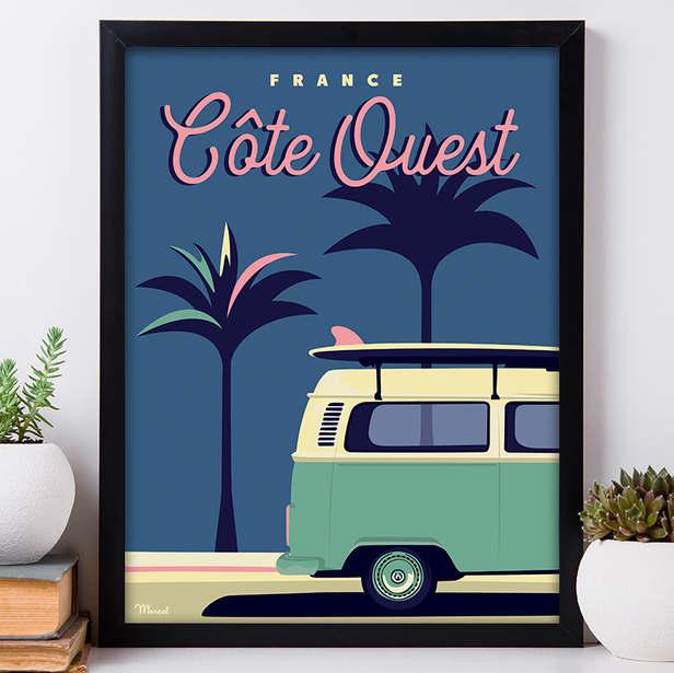 Affiche Marcel - Cote Ouest