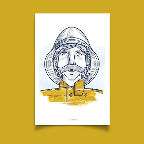 Affiche - Collection OXEA - ITSAS HIRU