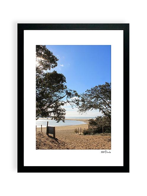 300 Pixels - Affiche Photo - La plage du Veillon, Talmont Saint Hilaire -2