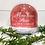 Boule à neige de Noël à personnaliser