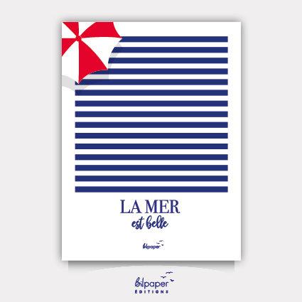 Affiche Bilpaper - La mer est belle 4