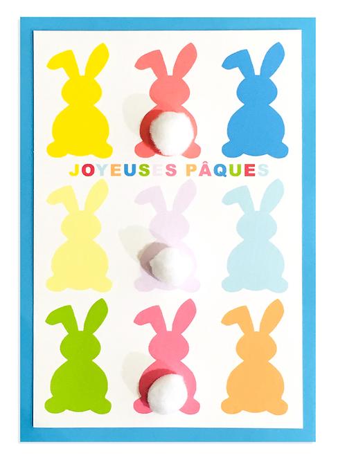 300 PIXELS - Carte de Pâques