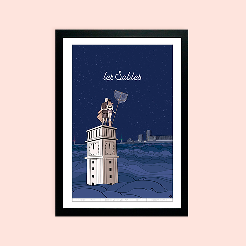 Affiche Atelier 2Bis - Heure de grande marée sur les Sables