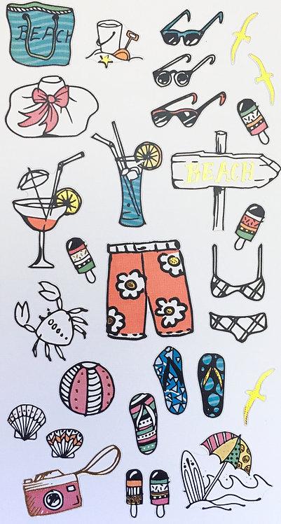 Stickers Notebook - Été