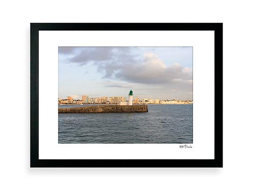 300 Pixels -Affiche Photo - Le Phare penché, Les Sables d'Olonne