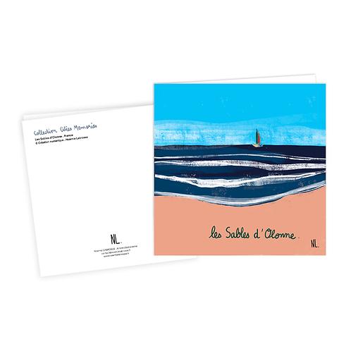 Carte Postale - Les Sables d'Olonne - Le voilier