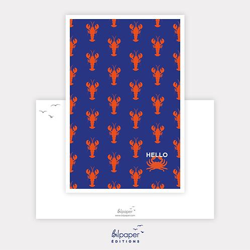 Coll. Bilpaper - Carte Hello