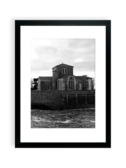 Affiche Photo - La Chaume, le Prieuré-saint-Nicolas, les Sables D'Olonne - NB2