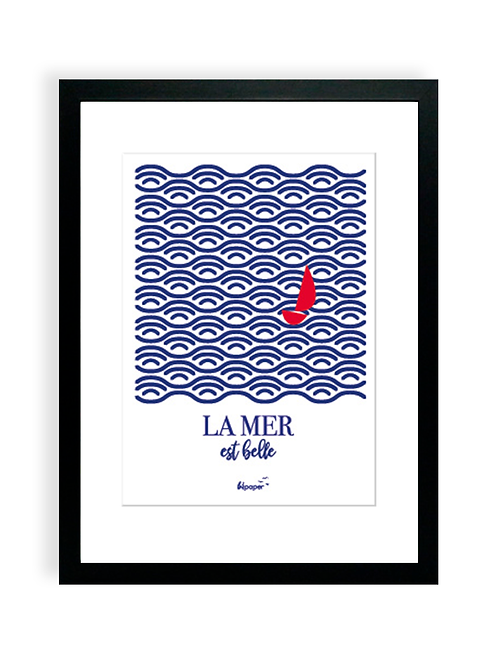 Affiche Bilpaper - La mer est belle 3