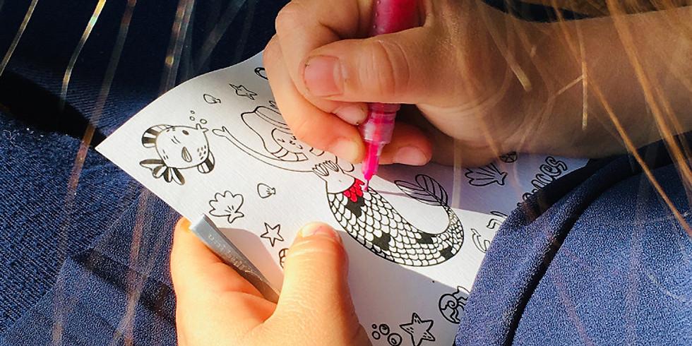 Atelier Cartes postales (dès 4 ans)