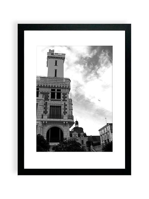 Affiche Photo - Palazzo Clementina 02 - Place Navarin - Les Sables d'Olonne
