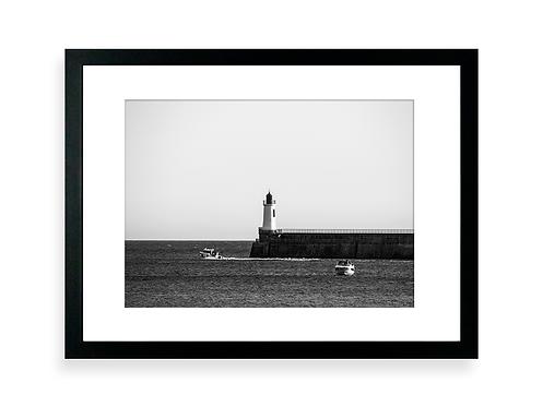 Affiche Photo - Le Phare - Les Sables D'Olonne - Cadre Noir