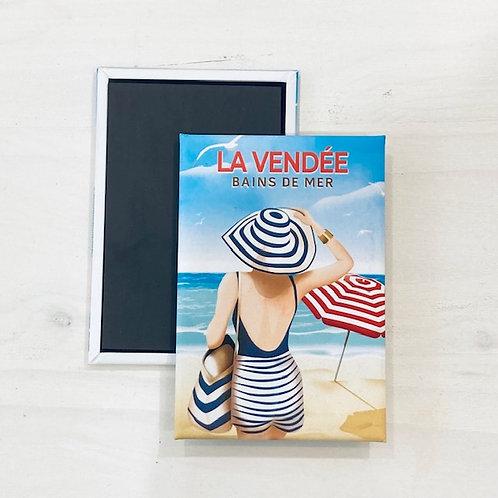Magnet - Bains de mer en Vendée