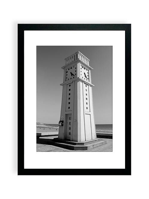 Affiche Photo - La Pendule des Sables - NB2