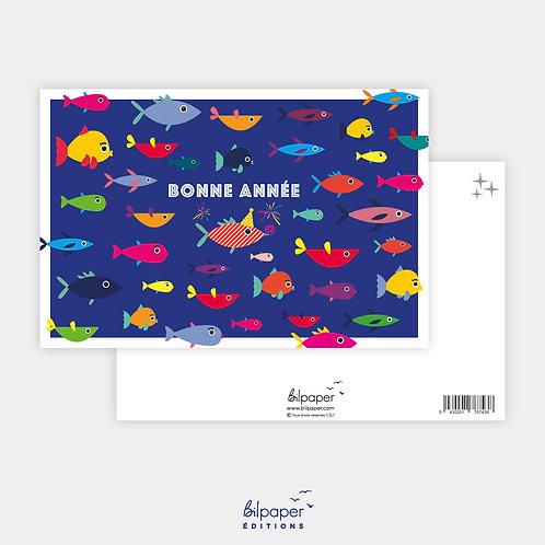 Carte Postale - Bonne année