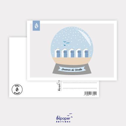 Carte Postale Bilpaper - Souvenirs de Vendée