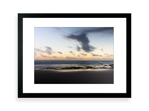 Affiche Photo - Couché de soleil sur la plage du Veillon - Talmont Saint Hilaire