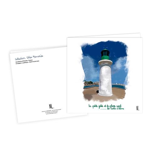 Carte Postale - Les Sables d'Olonne - Le phare vert
