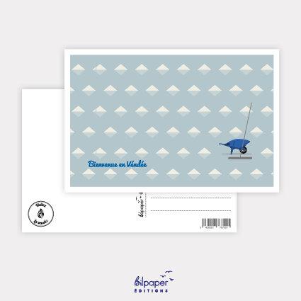 Carte Postale Bilpaper - Bienvenue en Vendée