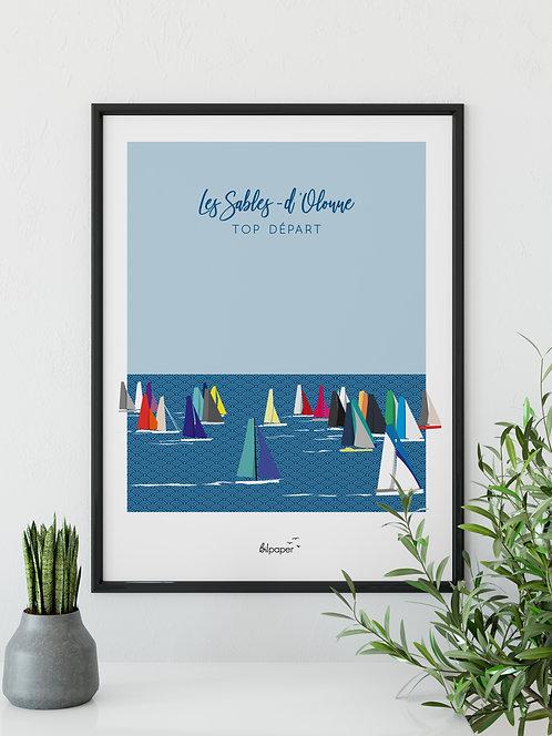 Affiche Bilpaper - Les Sables d'Olonne