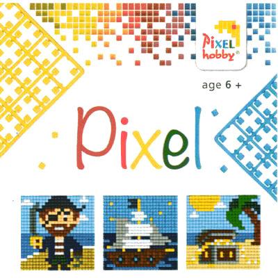 Pixel Art - Pixel Hobby Triptyque Pirates
